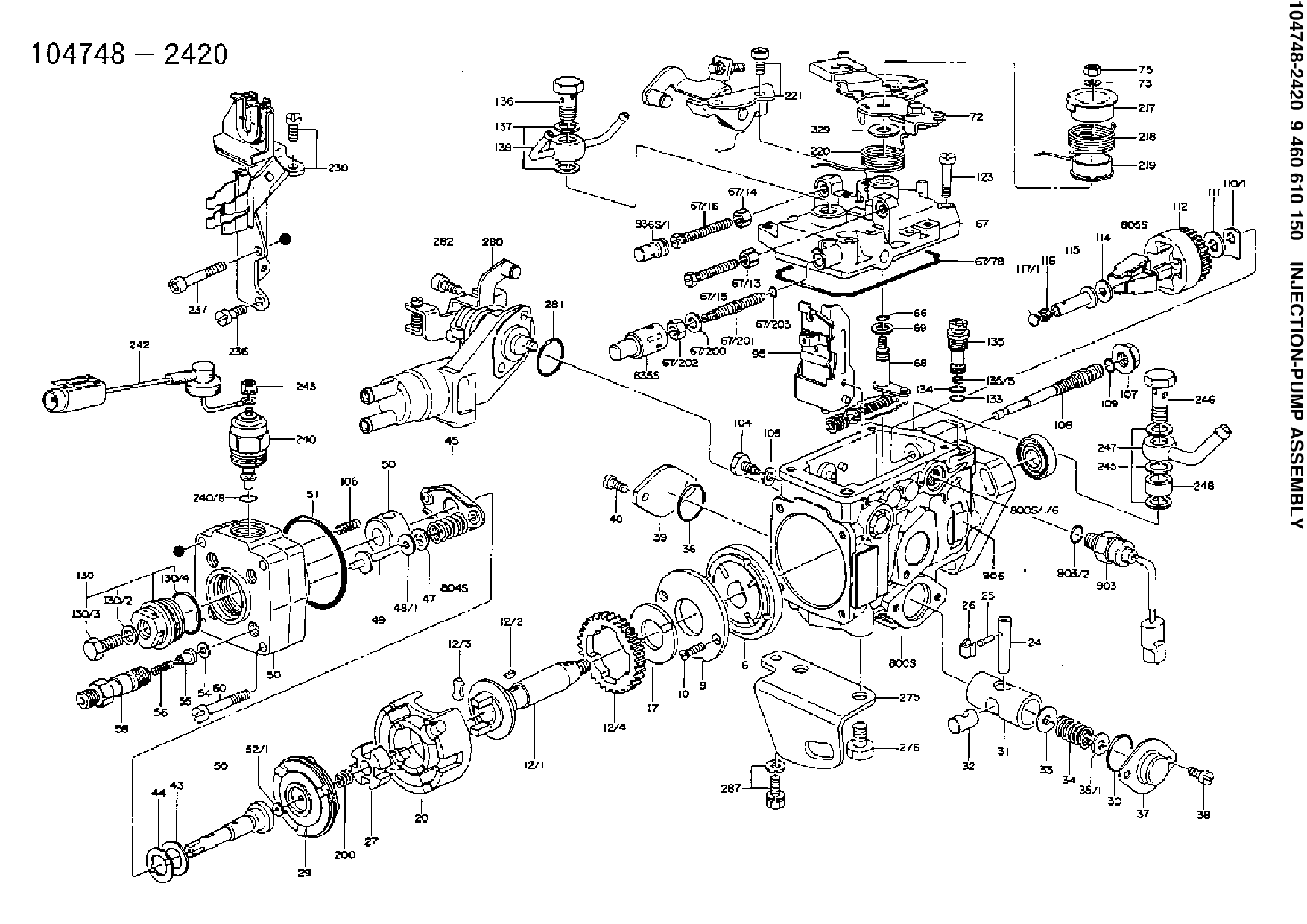 F3l1011 Deutz Sel Engine Diagram Model Parts Auto Parts